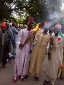 See what happened in Kano after Senator Kwankwaso defected to PDP (Photos)