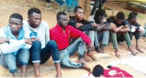 Offa Polytechnic SUG Vice President & 4 Others Arrested For Alleged Cultism (Photo)