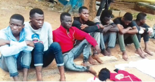 , Offa Polytechnic SUG Vice President & 4 Others Arrested For Alleged Cultism (Photo), Effiezy - Top Nigerian News & Entertainment Website