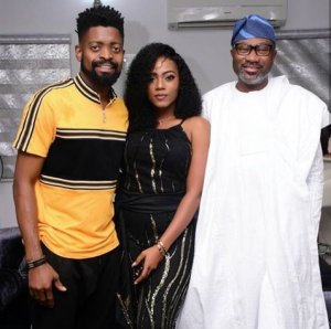 Photos From Basket Mouth's Wife's Birthday Party