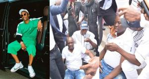 #EKITI: Wizkid reacts to Fayose collapsing after police fired teargas