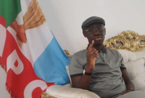 'APC tied with blood, evil covenant' – Timi Frank speaks on R-APC