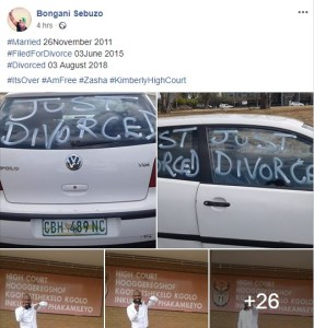 See How A Man Rejoiced After Divorcing His Wife. (Photos)
