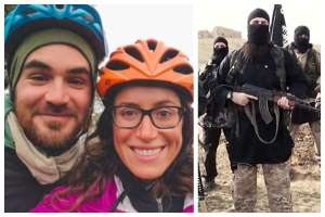 Couple Bikes Through ISIS Territory To Prove 'humans Are Kind' But They Get Killed (Photo)
