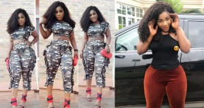Actress, Destiny Etiko Slays In Camouflage Outfit (Photo)