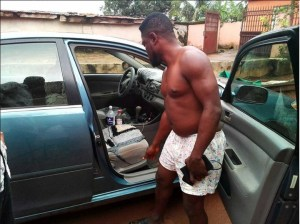 Man Shocked After Finding Strange Item In His Car – See What He Did. (Photos)