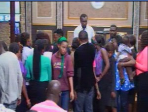 Apostle Lawrence Achudume Asks Members To Drop N5000 In His Hand For Blessing