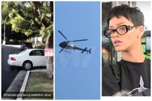 Rihanna's Home In L.A Swarmed By Police After Her Home Alarm Triggered, Guess What Happened (Video)