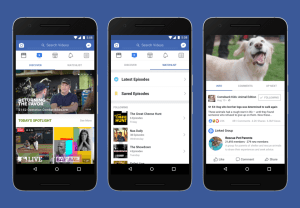 Facebook's Rolls Out 'watch' Video-streaming Service Worldwide To Fight Youtube.