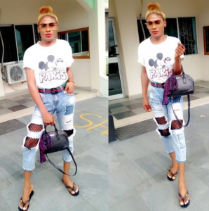 , 'I Was Born A Boy But I Am Changing Into A Beautiful Lady' – Nigerian Cross Dresser, Effiezy - Top Nigerian News & Entertainment Website
