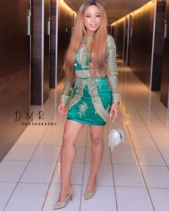 Check Out First And Second Looks Of Nina Ivy At AMVCA 2018 (Photos)