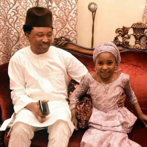CUTE!!!! Senator, Shehu Sani And His Daughter Pictured Together