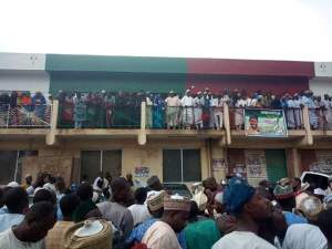 Kano PDP Members Protest, Burn Secondus' Posters For Making Kwankwaso Leader