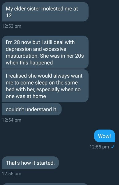 , SHOCKING!! Nigerian Men Narrate How They Were Sexually Abused By Their Mothers, Sisters & 'Aunties', Effiezy - Top Nigerian News & Entertainment Website