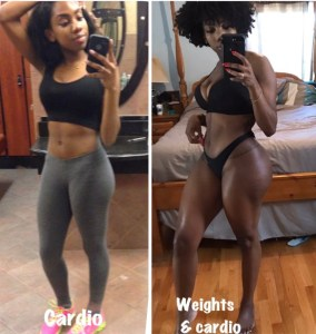 , Check Out This Woman's Body Transformation After Just 1 Year Of Squats (Photos), Effiezy - Top Nigerian News & Entertainment Website