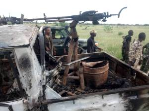See Photos Of Boko Haram Terrorists Killed By Nigerian Soldiers. (Graphic Photos)