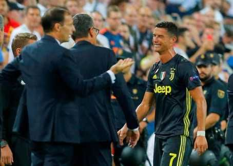 , Photos Of Juventus Star, Cristiano Ronaldo In Tears After Red Card Vs Valencia (Photos), Effiezy - Top Nigerian News & Entertainment Website