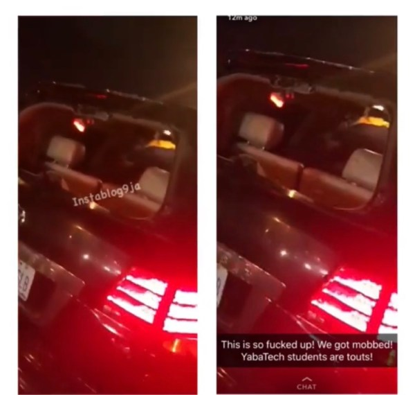 , Mayorkun Escapes Being Killed, As Yabatech Students Destroy His Car (Video)), Effiezy - Top Nigerian News & Entertainment Website