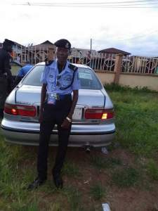 See this under aged Police officer who participated in Osun Elections (Photos)