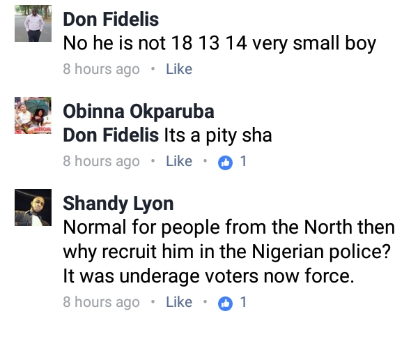 , See this under aged Police officer who participated in Osun Elections (Photos), Effiezy - Top Nigerian News & Entertainment Website