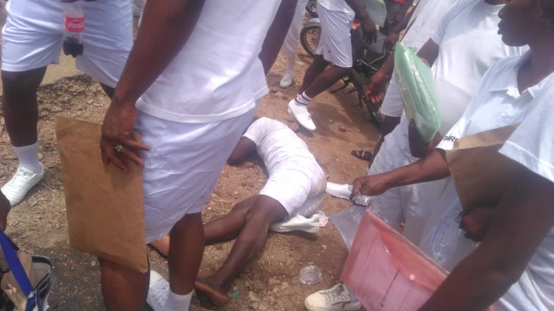 , FRSC Recruitment: Applicant Faints In Kogi, Others In Critical Condition (Photos), Effiezy - Top Nigerian News & Entertainment Website