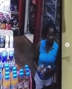Slay Mamas Caught On CCTV Stealing From A Store (Video)