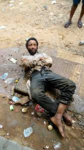 Mad Man With Snake, Condoms, Car Key Caught In Rivers State (Photos)