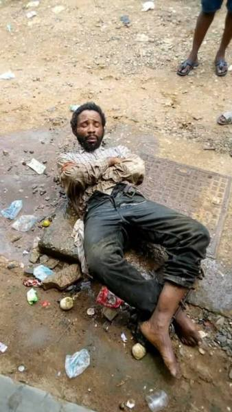 , Mad Man With Snake, Condoms, Car Key Caught In Rivers State (Photos), Effiezy - Top Nigerian News & Entertainment Website
