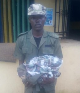 See This 23-year-old Armed Robber Caught In Army Uniform. (Photo)