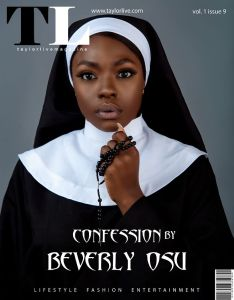 Actress, Beverly Osu Looks Pretty In Nun Dress As She Covers Taylor Live Magazine (Photos)