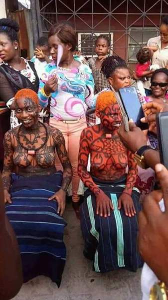 , See Rivers State festival where virgins are kept in a room for 3months, then married off (Photos), Effiezy - Top Nigerian News & Entertainment Website