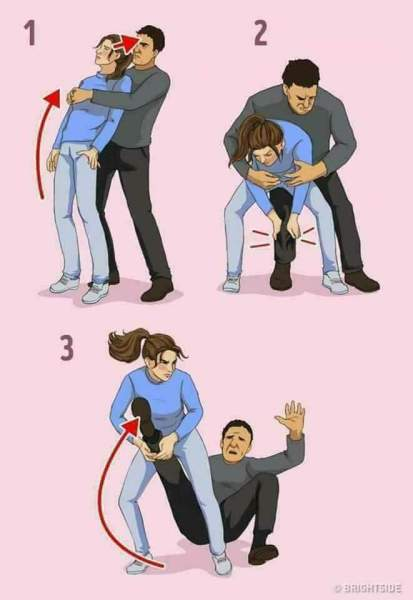, Check Out Self-Defense Tips Every Woman Should Know, Effiezy - Top Nigerian News & Entertainment Website