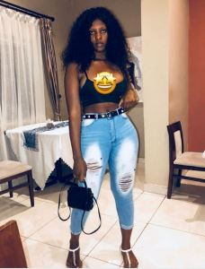 Ghanaian Lady, Choco Brown Flaunts Her Goodies Online (PHOTOS)