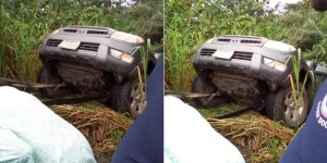 Man shares story of how he saved a family from an accident along Benin-Ore road (Photo)