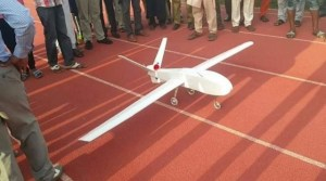 WOW!! A Nigerian Student Builds A Drone (Photos)
