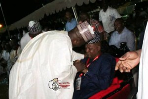 Governor Shettima Weeps In Public After Kaka Lawan Steps Down For Zulum (Photos)
