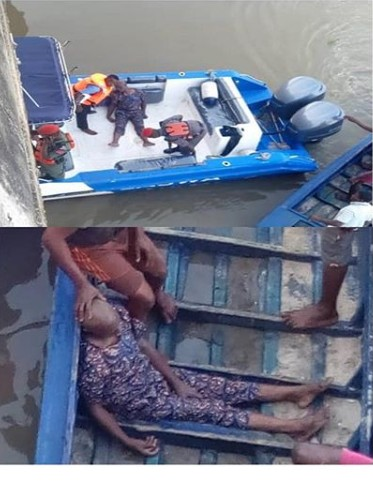 , See Photo Of Man Who Jumped Into Third Mainland Bridge This Morning, Effiezy - Top Nigerian News & Entertainment Website
