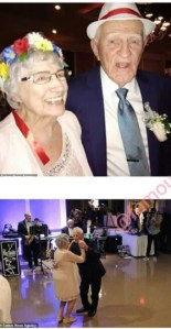 93-Year-Old Grandmother Marries 86-Year-Old Lover In US (Photos)