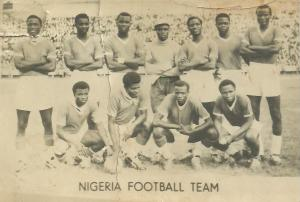 See Rare Photo Of The Nigerian Football Team Of 1962
