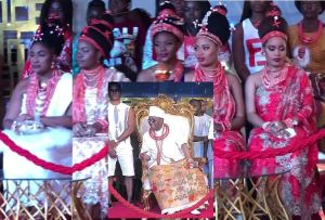 Check out 5 pretty wives of Oba Of Benin, Ewuare at his 2nd Coronation Anniversary