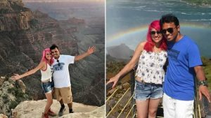 Indian Couple Fall To Their Death While Taking Selfie (Photo)