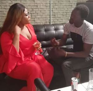 Actress Nkechi Blessing Sunday engaged to her boyfriend (video)