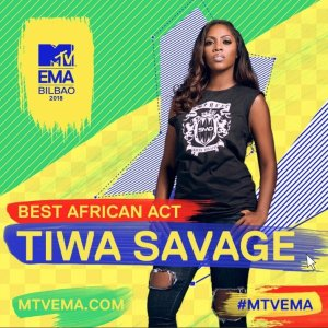 , Tiwa Savage Wins Best African Act At 2018 MTV Ema's, Effiezy - Top Nigerian News & Entertainment Website