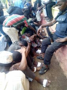 Siblings Arrested As Police Smash Deadly Robbery Syndicate. (Photos)