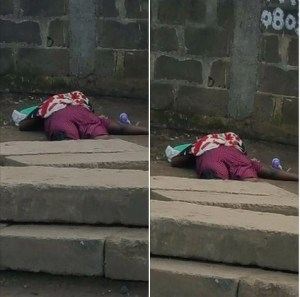 Lady Electrocuted To Death By High Tension Cable In Lagos. (Photo)