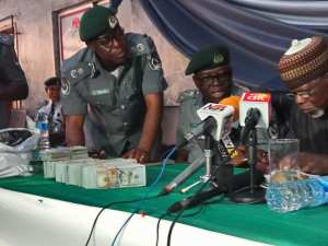 Customs Rejects Over $400K Bribe After Intercepting Tramadol. (Photos)