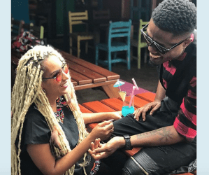 Ghanaian Actress Juliet Ibrahim Now Dating Nigerian Rapper Vector? (See Their Posts)
