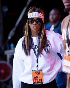 Tiwa Savage Flaunts Her Super Attractive Shape In Bodysuit – See Photos