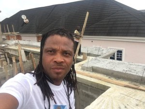 , Check out African China's reply to a troll who asked him to stop showing off his house that is still under construction, Effiezy - Top Nigerian News & Entertainment Website