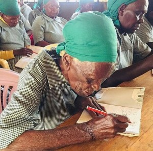 WOW: 95-Year-Old Woman Enrolls In School To Learn To Mathematics
